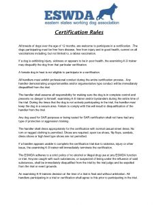 Rules and Code of Conduct